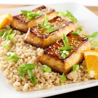 Easy Weeknight Baked Tofu.