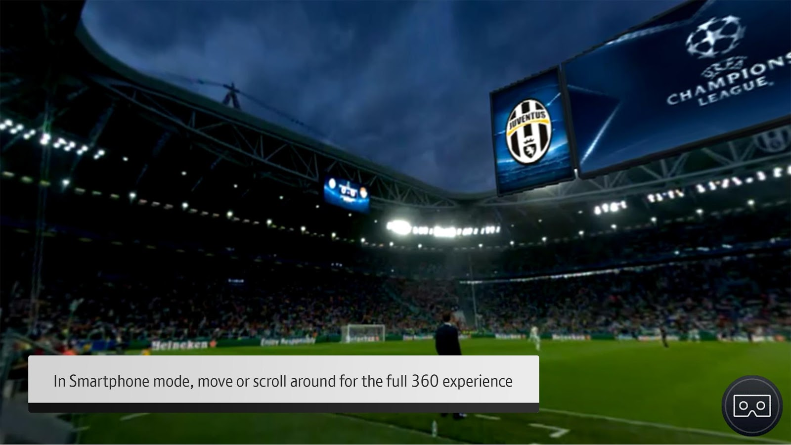 BT Sport VR- screenshot
