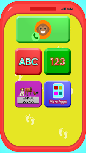 Phone for Toddlers - Alphabet, Numbers, Animals 1.0 screenshots 1