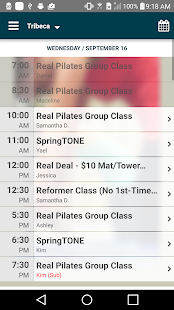 Real Pilates NYC- screenshot thumbnail