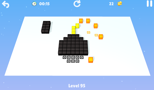 Cubes game for Android screenshot