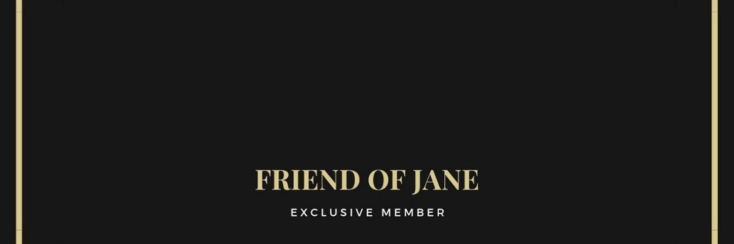 [TEST] Friend of Jane Popup