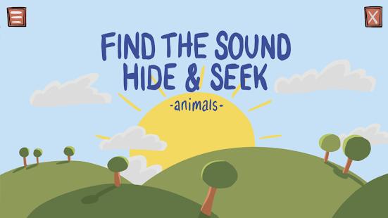 Find the Sound Hide & Seek - Animals - náhled