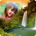 Waterfall Photo Frames Editor icon