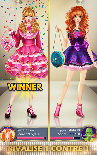 Télécharger Gratuit Jeux de Mode en vogue & Styliste pour des filles APK MOD (Astuce) screenshots 6