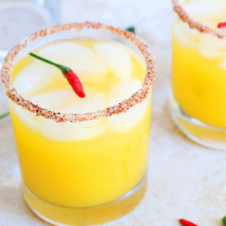 Pineapple Chili Margaritas