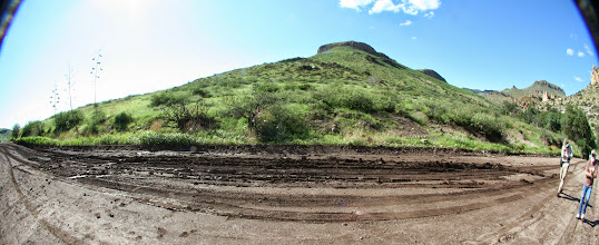 Photo: Muddy patch.