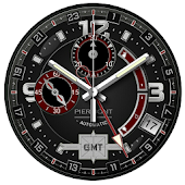 Piermont GMT Red Watchface