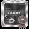 Bullet hole GO SMS icon