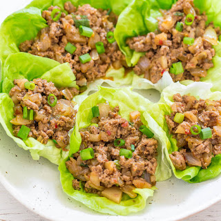 P.F. Chang's Chicken Lettuce Wraps {Copycat Recipe}.