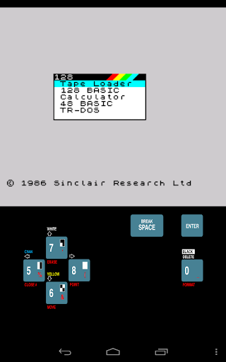 USP - ZX Spectrum Emulator screenshots 12
