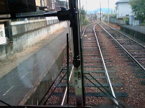 Photo: Local train in Kyoto