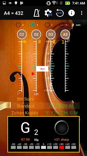 Cello Tuner &  Metronome ss3