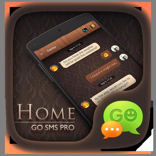 (FREE) GO SMS PRO HOME THEME