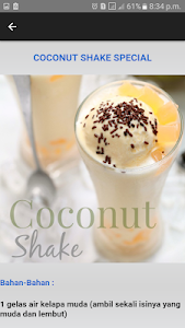 87+ Gambar Air Coconut Shake Paling Hist