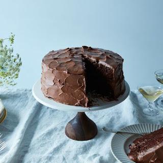 Anita Shepherd's Vegan Chocolate Birthday Cake With Super-Fluffy Frosting.