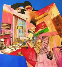 Photo: Habitación.óleo sobre tela.115x125 cms.año 2011.$ 980.000-neto. Visita: http://vivaelarte-cabusrri.blogspot.com/