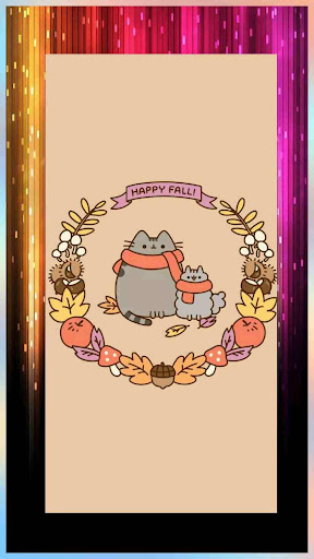 Cute Pusheen Backgrounds & Kawaii Cat Wallpapers 1.0 screenshots 9