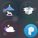 Merry-Go-Round Launcher Theme icon