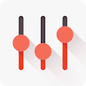 Flat Equalizer - Bass Booster & Volume Booster icon