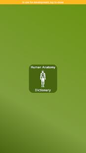 Human Anatomy Dictionary - náhled