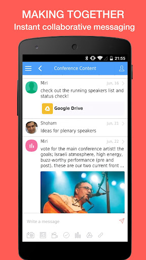 hivve: Collaborative Messenger