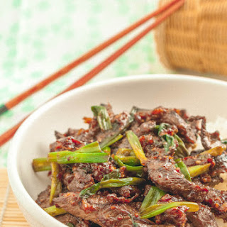 Stir Fried Ginger Beef