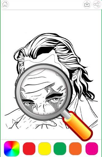 Heroes Joker Coloring Book 1.2.5 screenshots 2