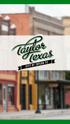 City of Taylor Texas