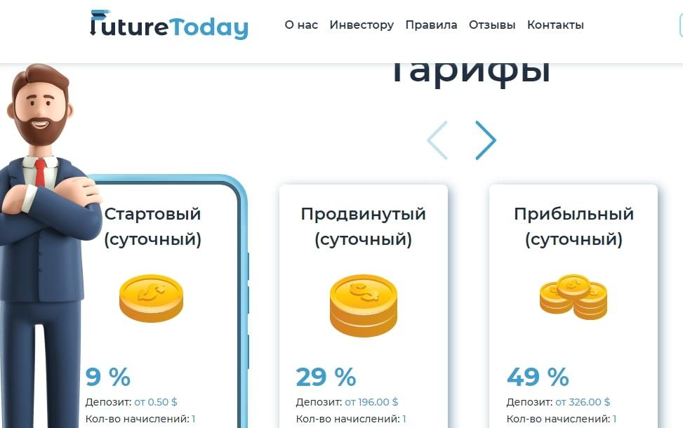 Обзор маркетинга FutureToday: условия сотрудничества, отзывы реальных клиентов