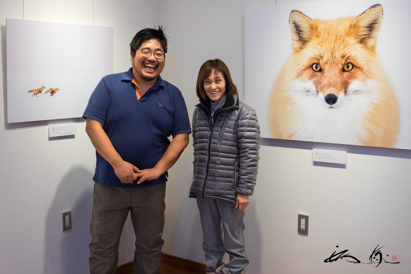 井上浩輝さんの個展「PORTRAIT KIKAKITUNE」