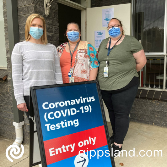 Latrobe Community Health Service (LCHS) will offer testing Tuesdays and Thursdays from 9am to 11am, locals can park and walk up to register before being tested
