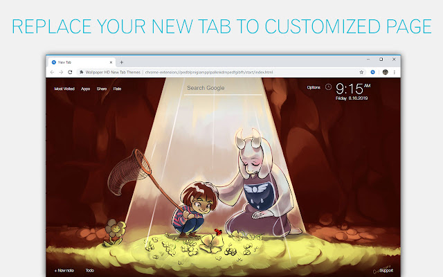 Undertale Wallpaper HD Custom New Tab