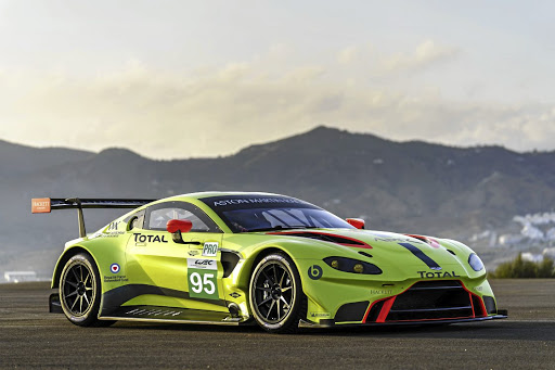 The Aston Martin Vantage GTE will compete in various series including the World Endurance Championship.   Picture: NEWSPRESS UK