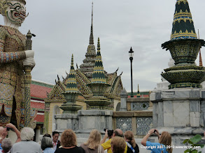 Photo: Wat Phra Kaew - it was crowded when we were there.