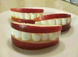 Toothy Grinning Apple Slices Recipe
