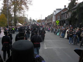 Photo: As ever, these parades are well attended and a joy to do - when the weather is good. It was in the high 50's. Perfect.
