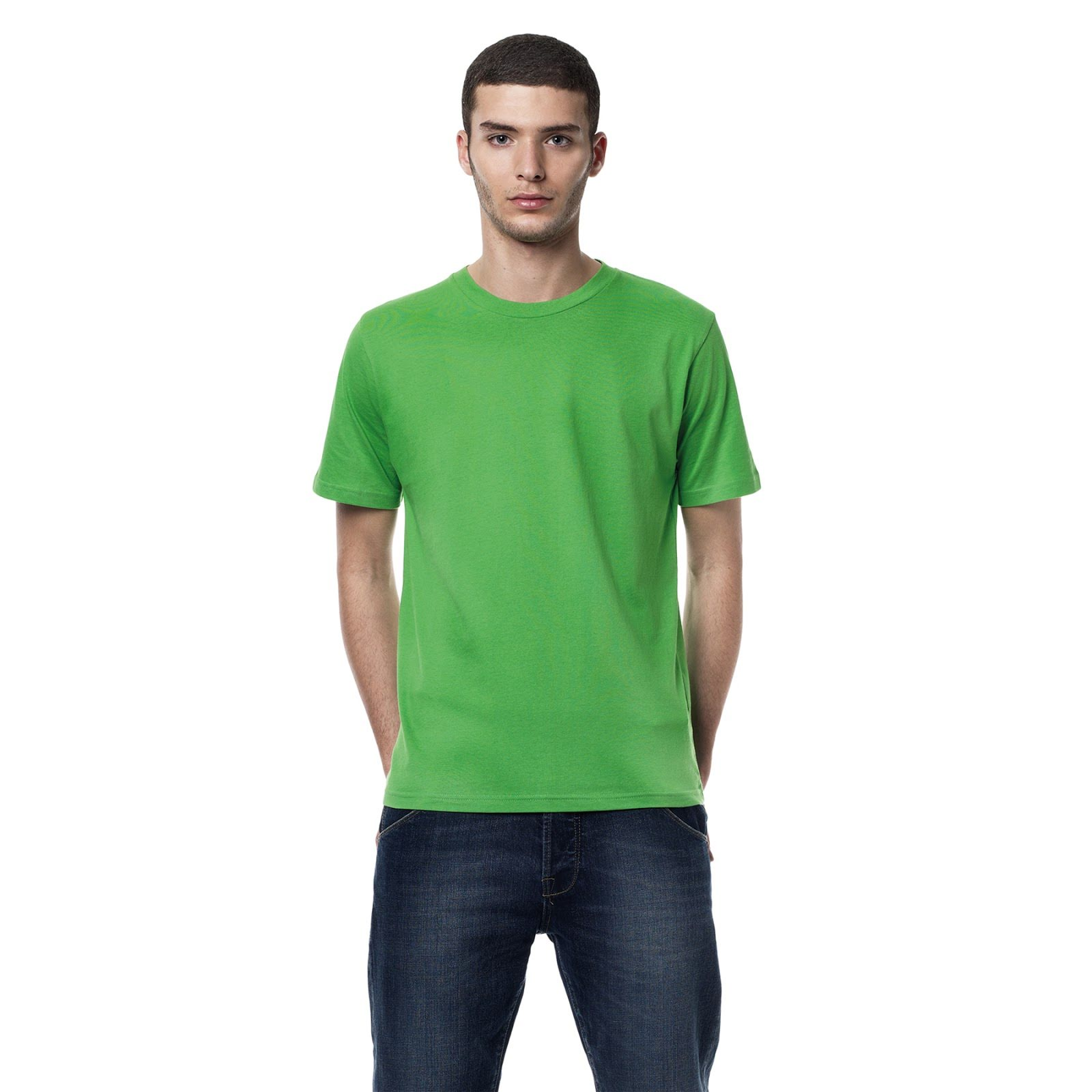 Earth Positive Mens T-Shirts Green