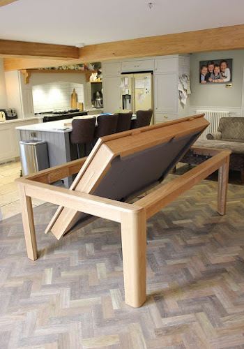 Revolving Dining Table to Pool Table
