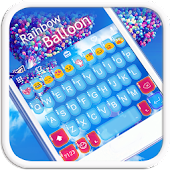 Rainbow Balloon Emoji Keyboard