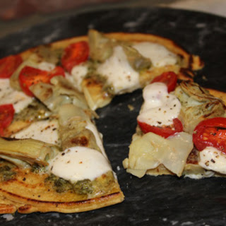 Gluten-Free Pizza Recipe Made With Chickpea Flour!