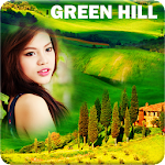 Green Hill Photo Frames Icon