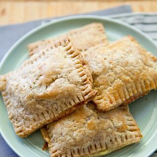 Ham, Leek, and Ricotta Toaster Tarts