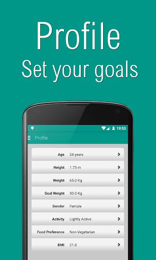 Personal Dietitian Free screenshot 5