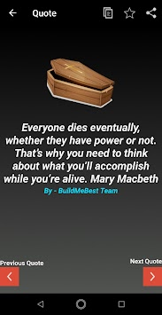 Death Quotes in English - Funeral Sad Invitation image