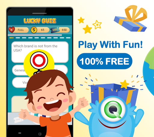 Trivia game & quizzes, 100% free - Lucky Quiz 1.581 screenshots 1