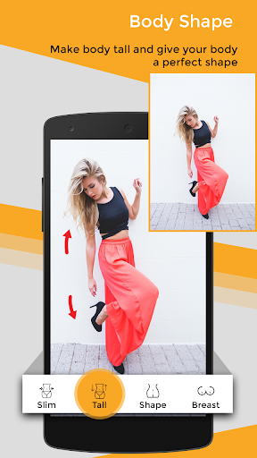 Body Shape Photo Editor 2.0 screenshots 2