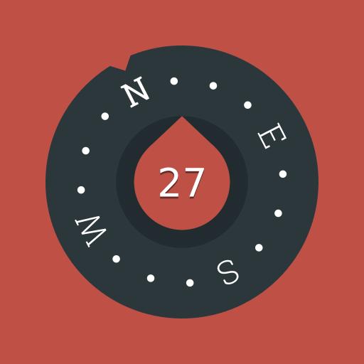 Compass (Free & No Ads) Icon