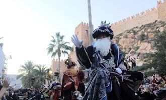 La Alcazaba abre la magia de la Cabalgata de Reyes