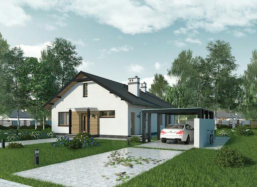 projekt Własny dom - wariant I - C303a